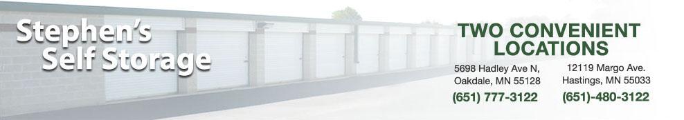 Stephenu0027s Storage Solutions - Oakdale Minnesota - Hastings Minnesota  sc 1 th 94 & Stephenu0027s Self-Storage - Storage units in Oakdale and Hastings